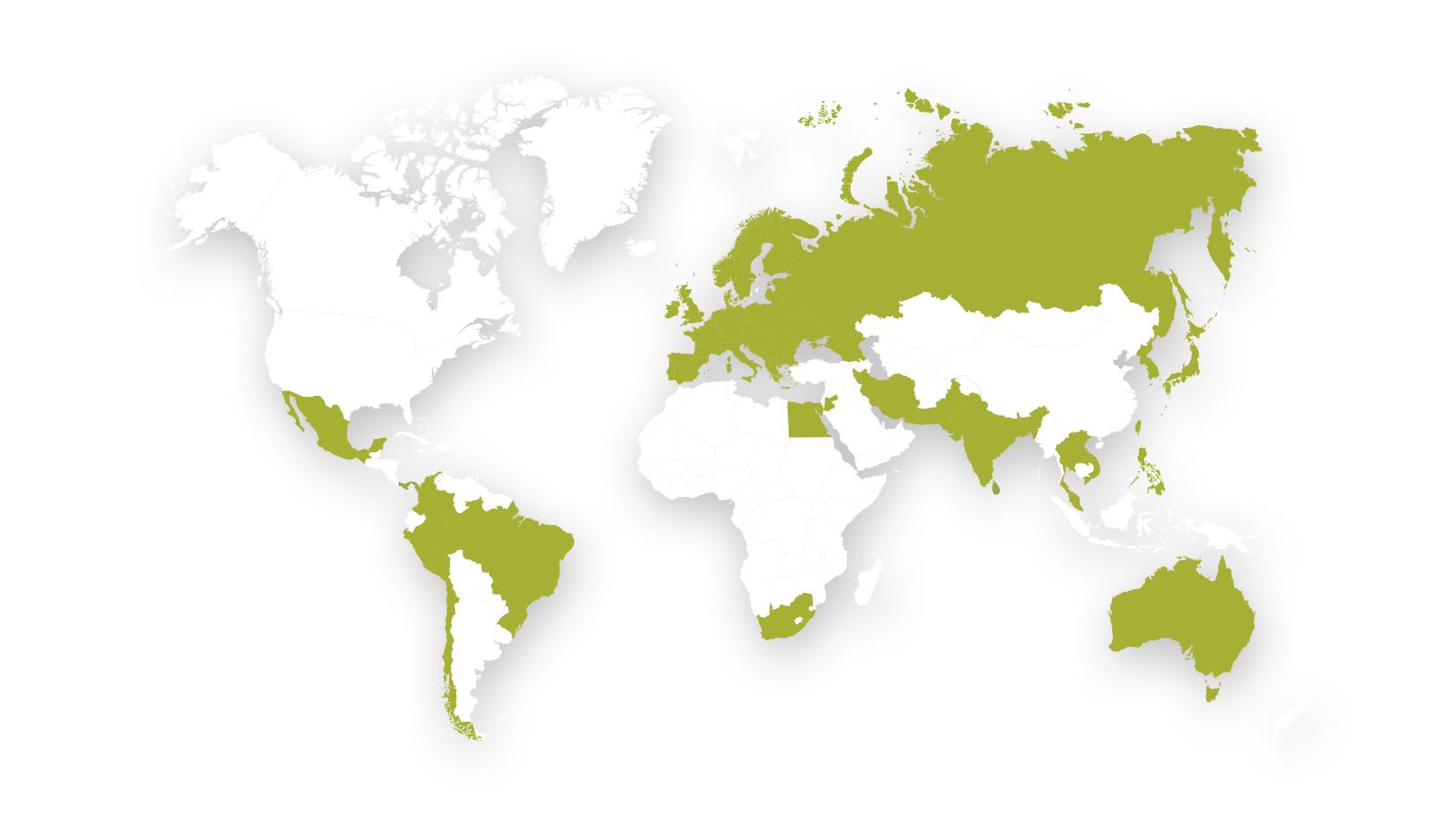 Mapa de posicionamiento global de Andersen