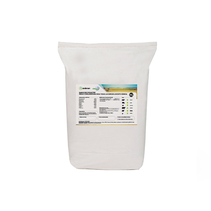 packaging de sanicox poultry